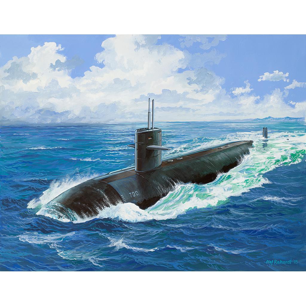 Revell USS DALLAS (SSN-700) 1:..