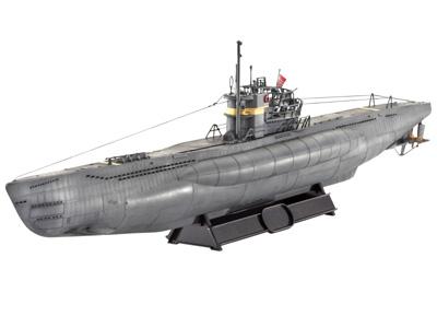 Revell German Submarine Type VII / 41  1:144