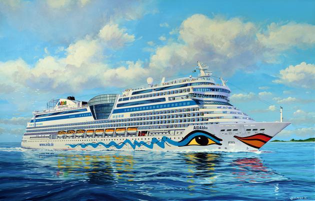 Revell Cruiser Ship AIDA (blu, sol, mar, stella) 1..