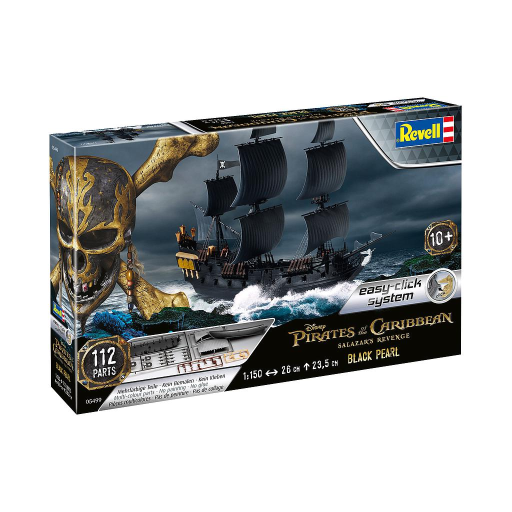 Revell Black Pearl 1:150 Easy-..