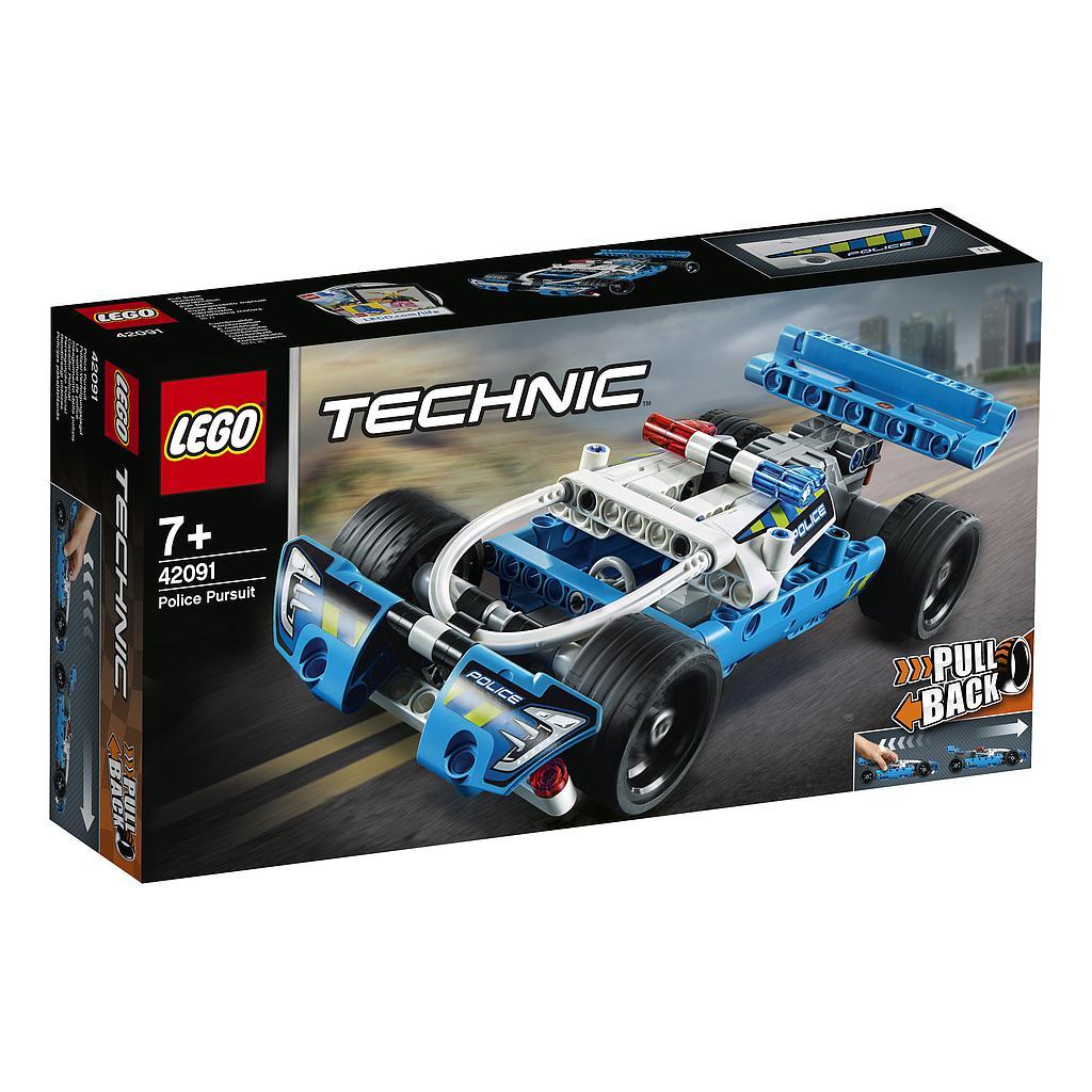 LEGO Technic Politsei jäl..