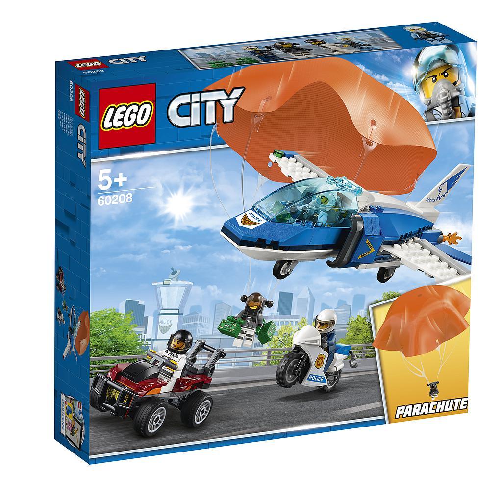 LEGO City Kinnipidamine õhupolitsei langevarjuga