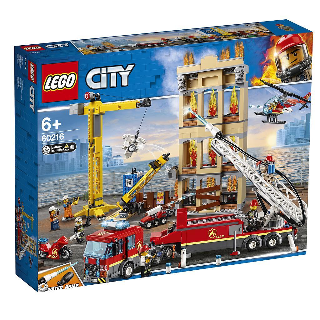 LEGO City Kesklinna tuletõrjebrigaad
