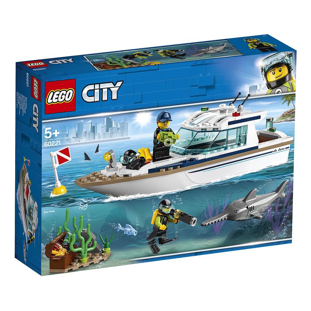 LEGO City Sukeldumisjaht