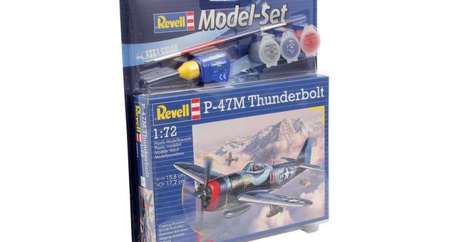Revell mudelikomplekt P-47M Th..