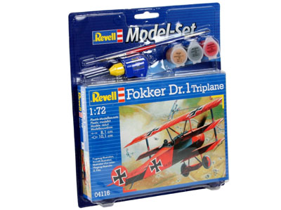 Revell mudelikomplekt Fokker D..