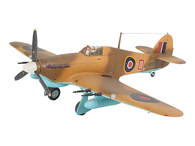 Revell mudelikomplekt Hawker Hurricane M..