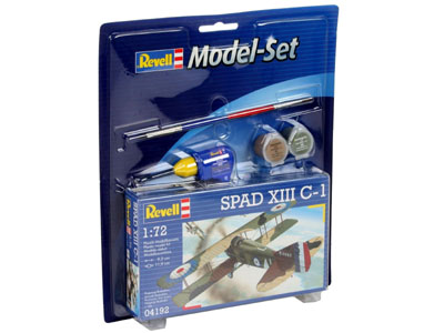 Revell mudelikomplekt Spad X..