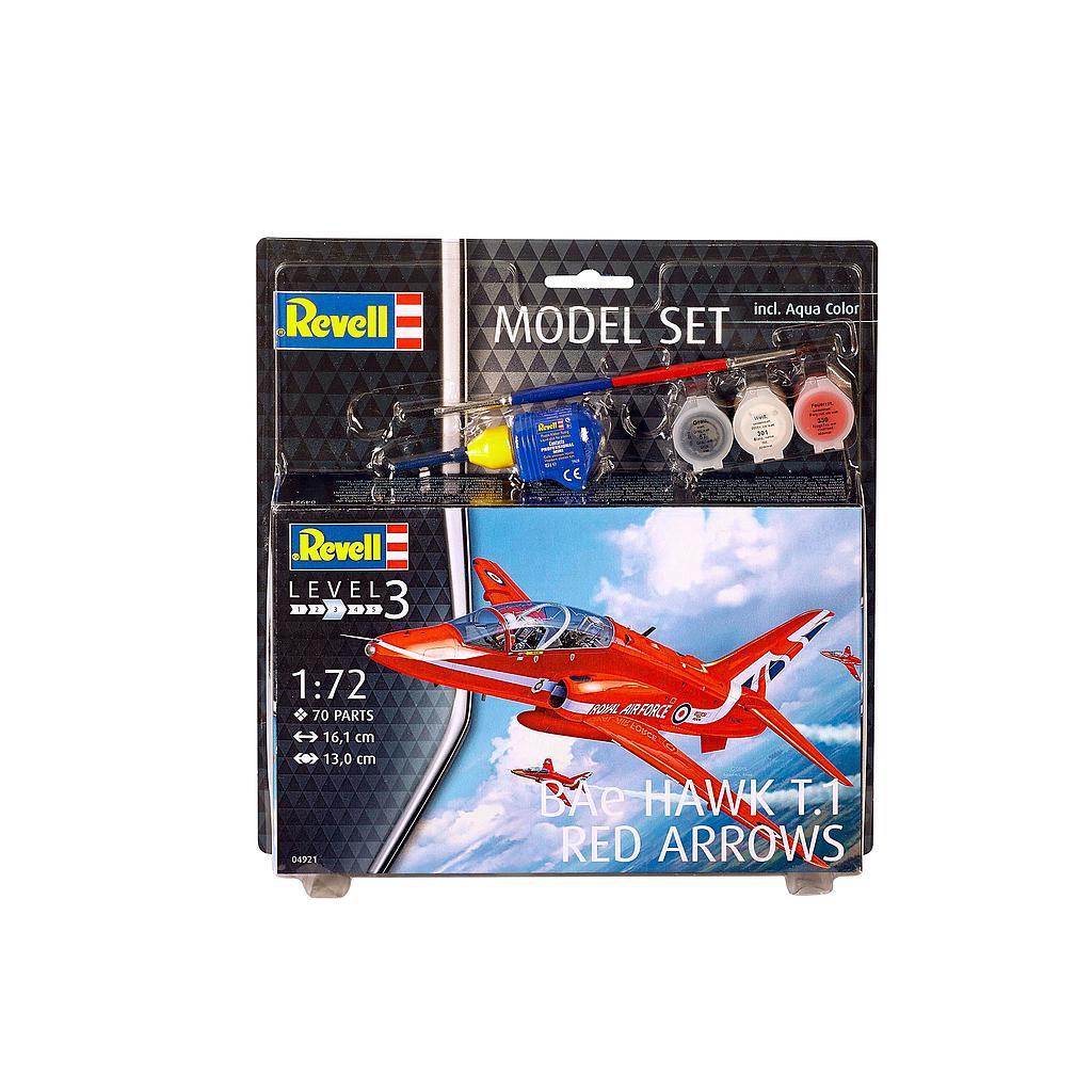 Revell mudelikomplekt BAe Hawk T.1 Red A..