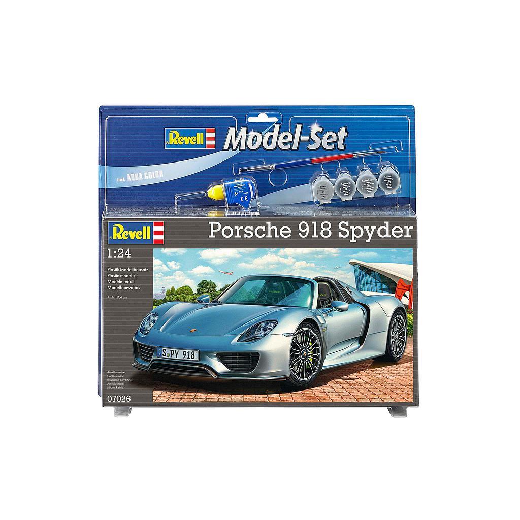 Revell mudelikomplekt Porsche 918 Spyder 1:24
