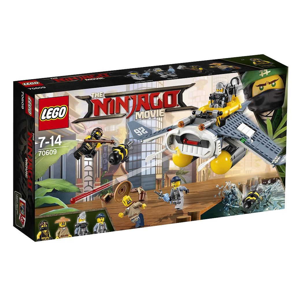 LEGO Ninjago Raikujuline pommi..