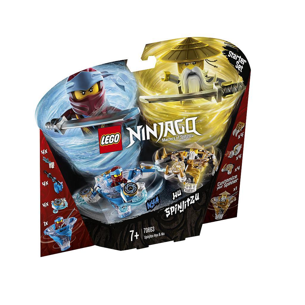 LEGO Ninjago Spinjitzu Nya&Wu
