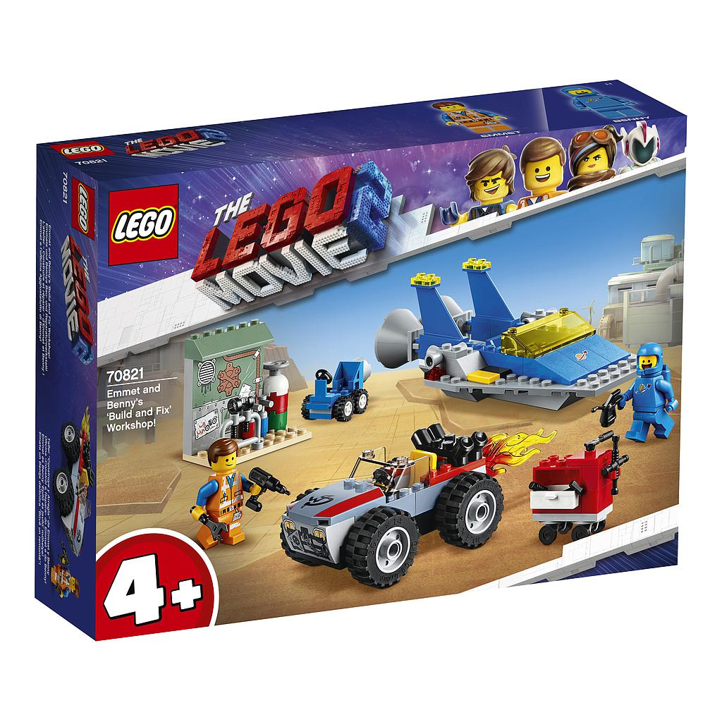 LEGO Movie Emmeti ja Benny ehi..
