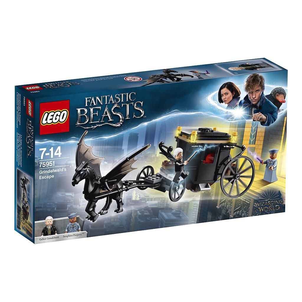 LEGO Harry Potter Grindelwaldi põgenemine