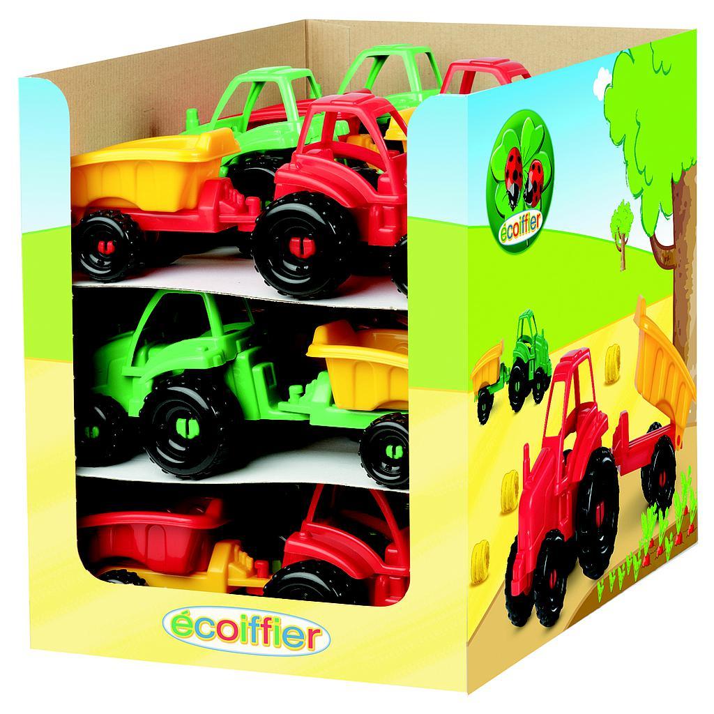 Ecoiffier traktorid.
