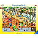 Ravensburger Frame Puzzle 38 pc On a Construction Site