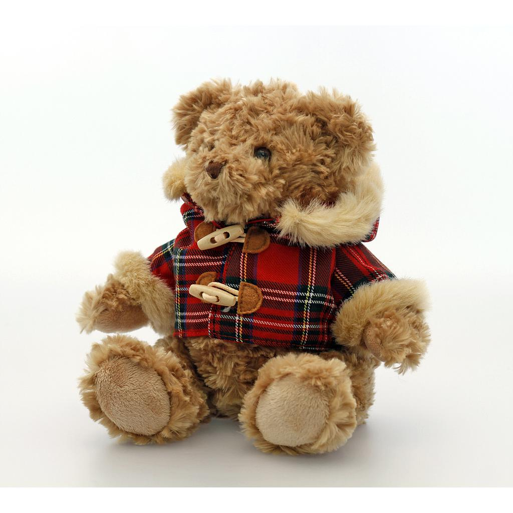 Keel Toys karu Hamish ruudulise jakiga 20 cm.