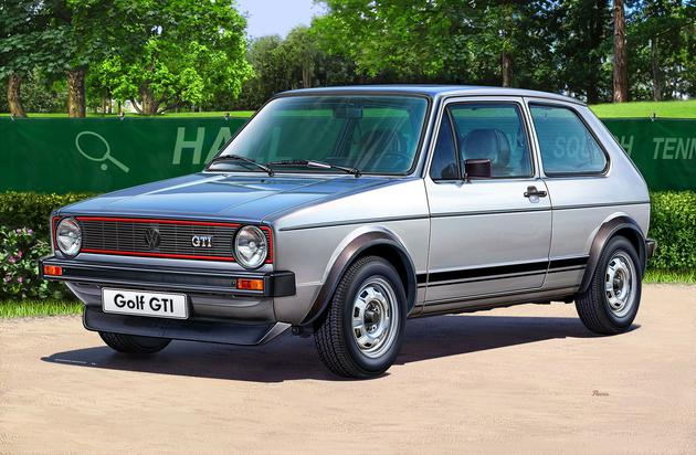 Revell liimitav mudel VW Golf ..