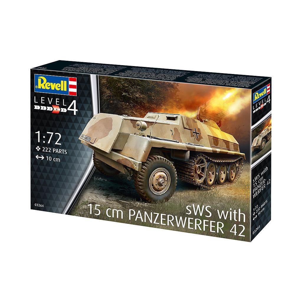 Revell 15 cm Panzerwerfer 42 auf sWS 1:72