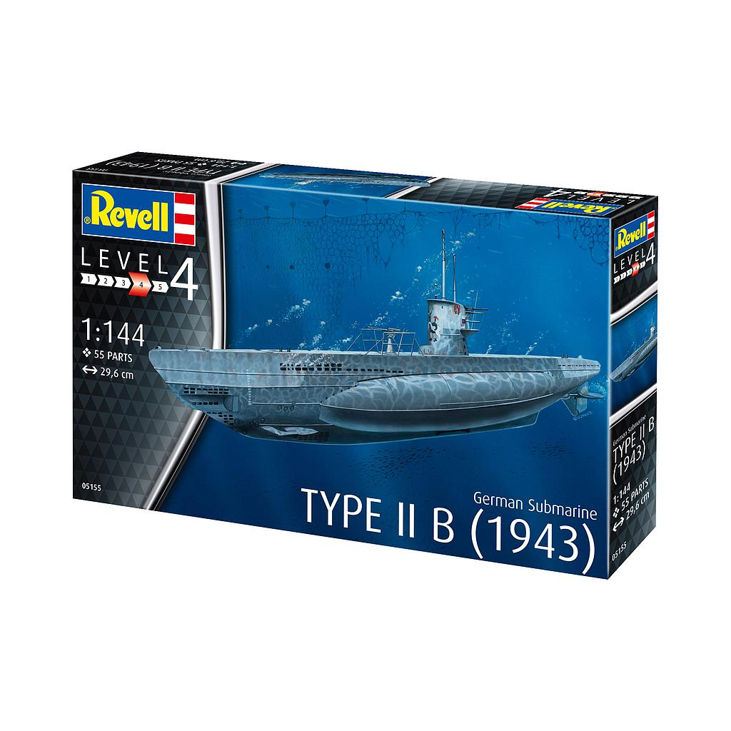 Revell German Submarine Type IIB (1943) ..