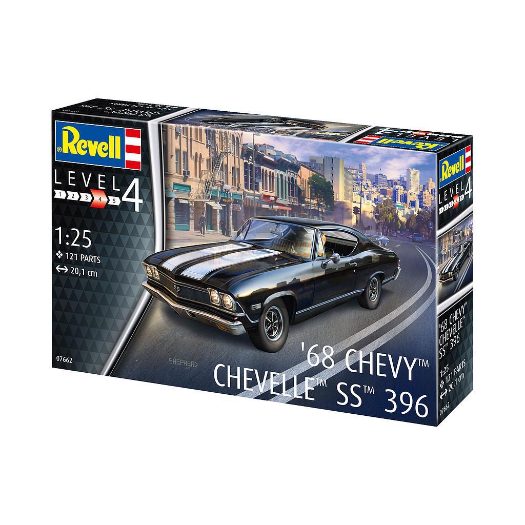 Revell liimitav mudel 1968 Chevy Chevell..