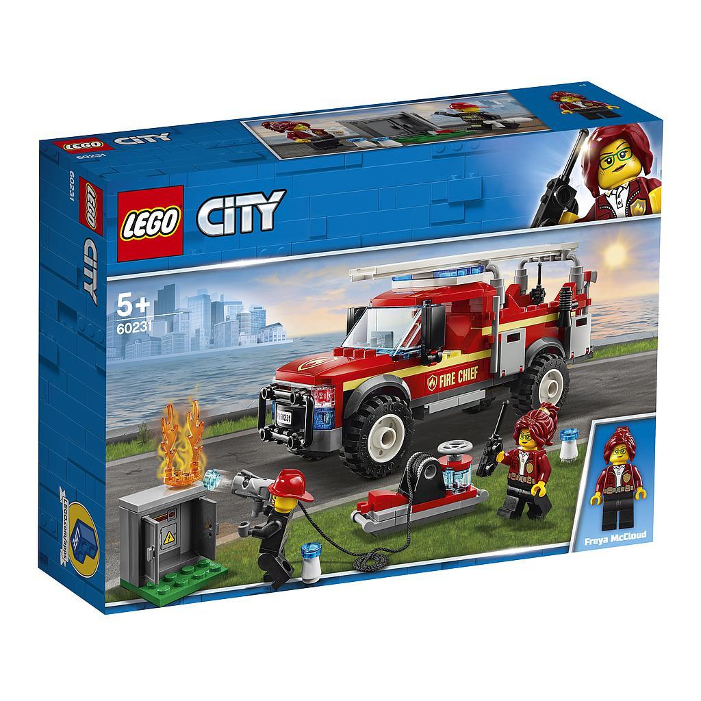 LEGO City Tuletõrjeülema päästeauto