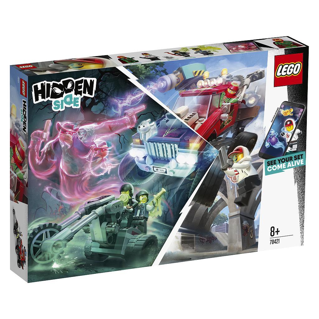 LEGO Hidden Side EI Fuego trik..