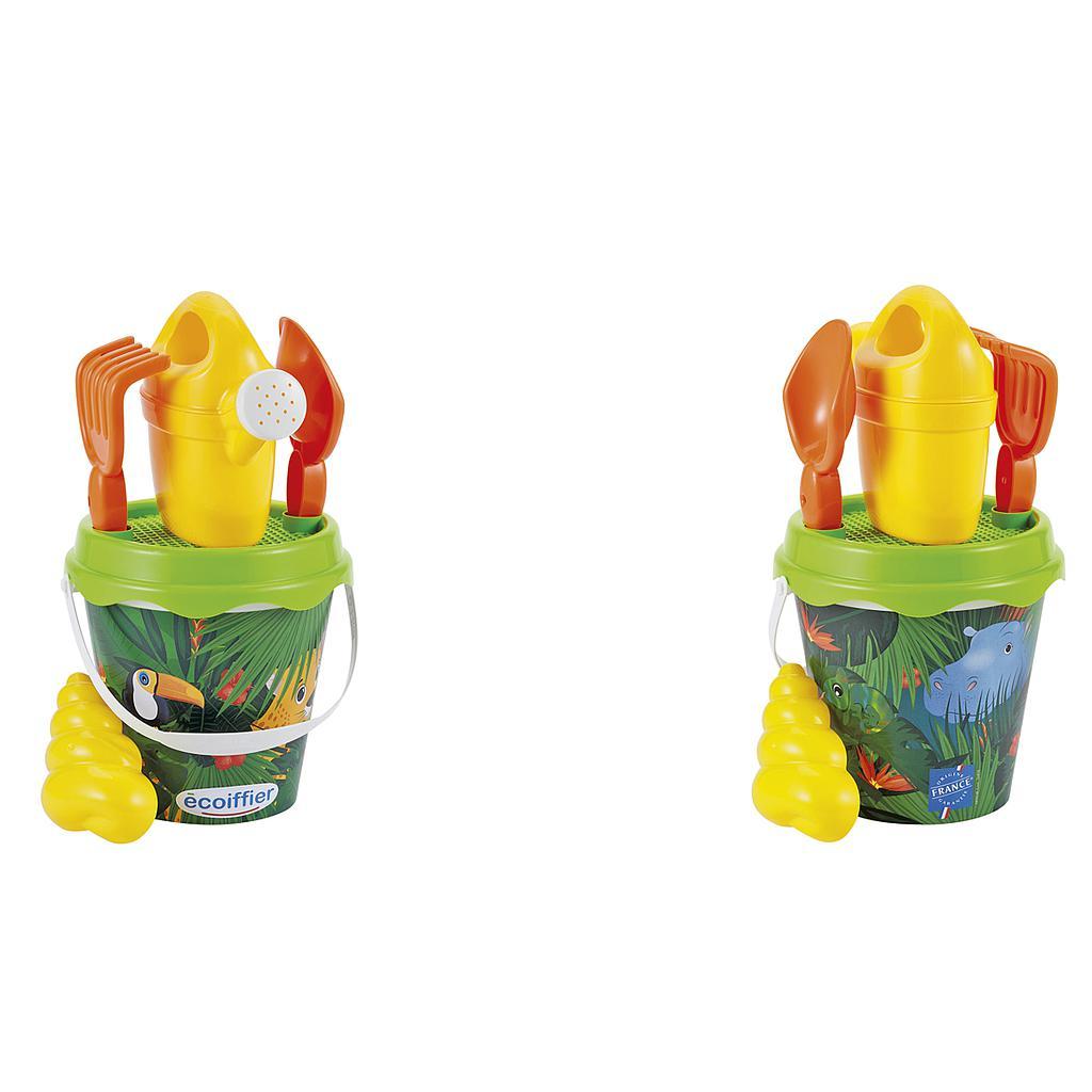 Ecoiffier ämbrikomplekt Džungel