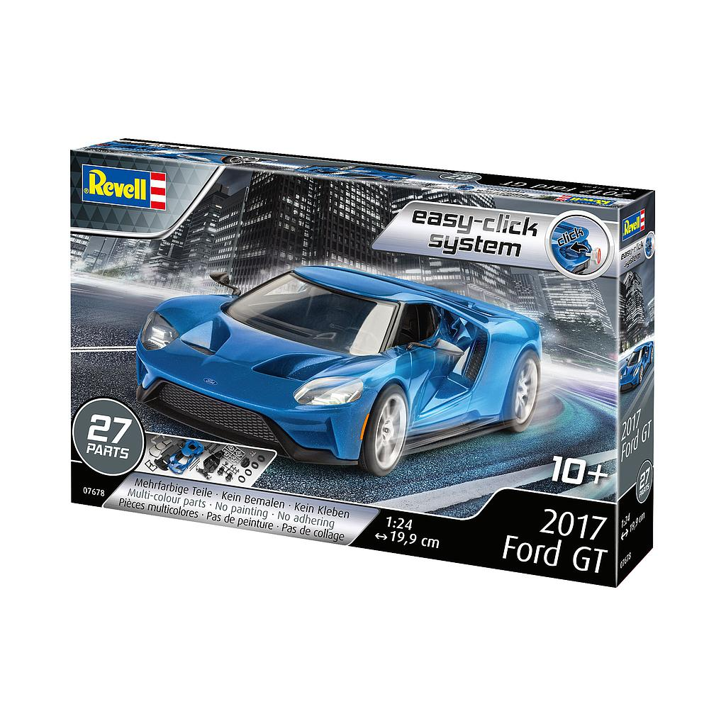 Revell 2017 Ford GT 1:24 Easy-..