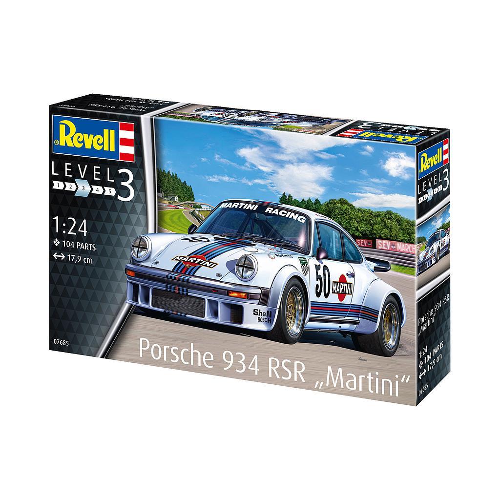 "Revell Porsche 934 RSR ""Martini"" 1:24"