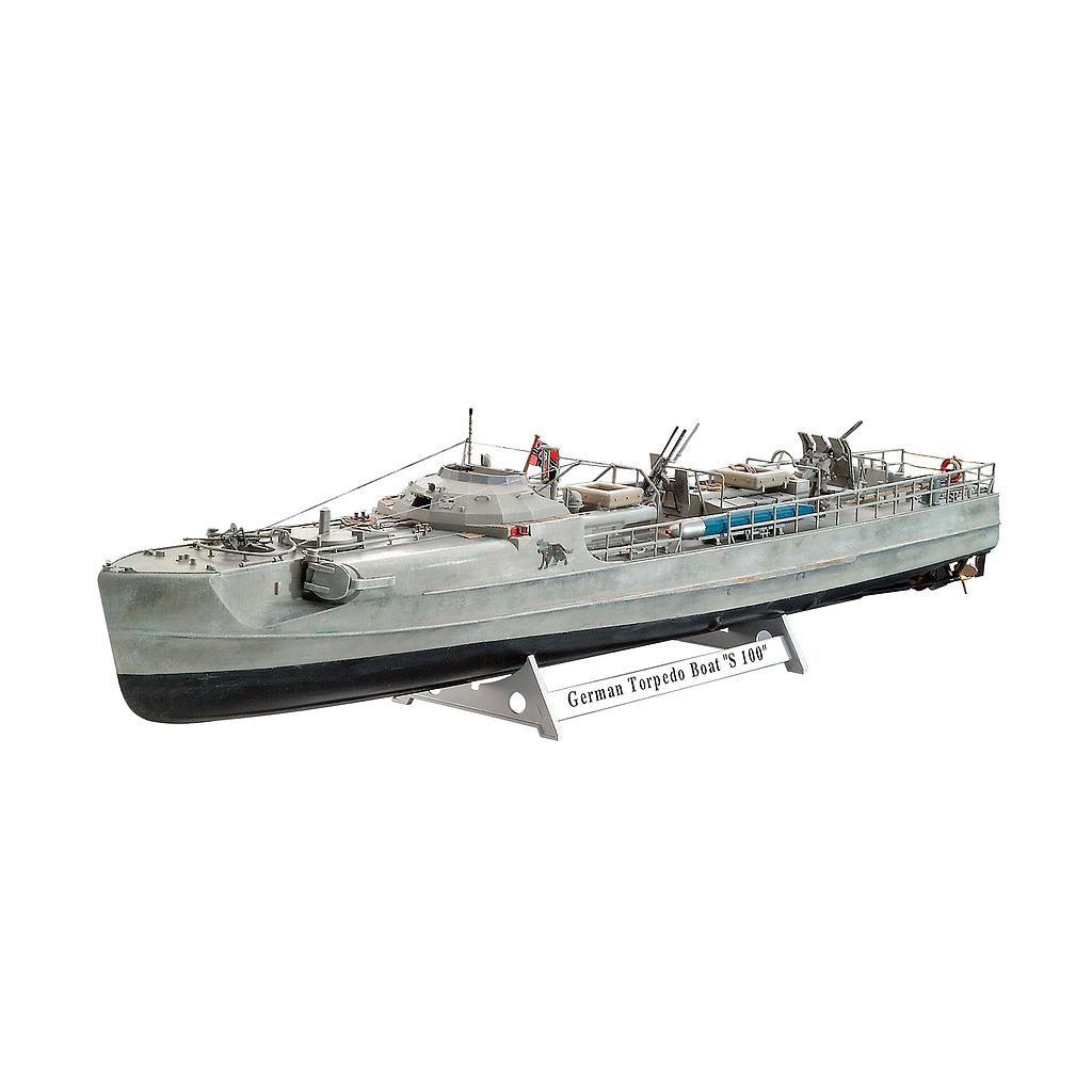 Revell German Fast Attack Craft S-100 Maßstab: 1:72