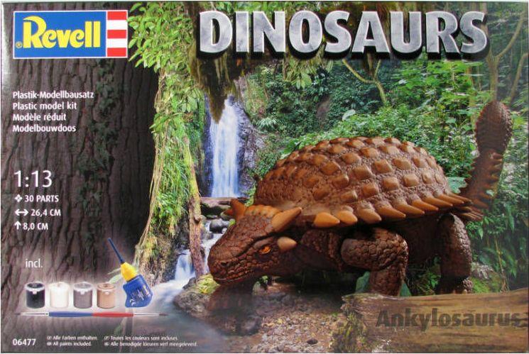 Revell dinosaurus Ankylosaurus 1:13