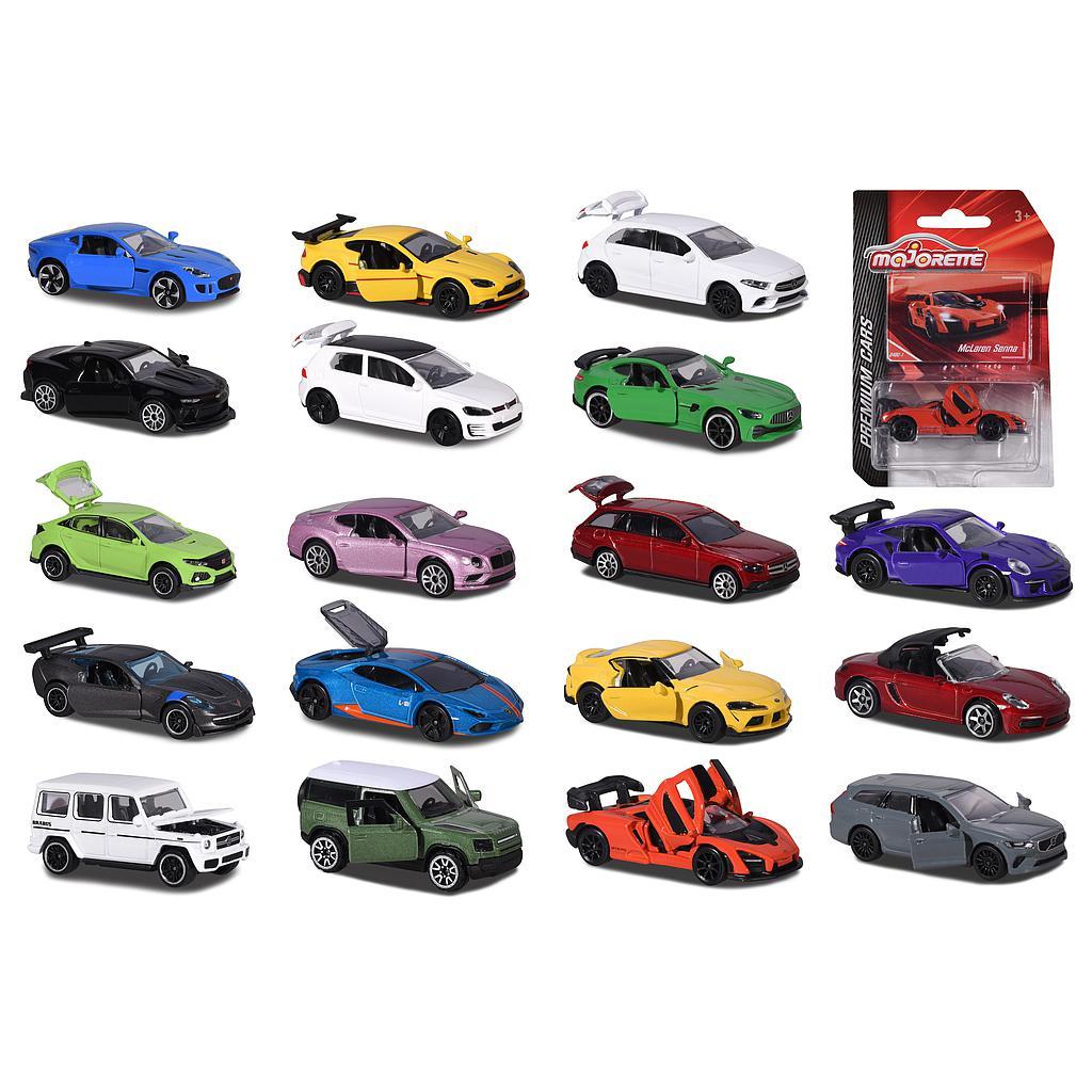 Majorette Premium cars mudelautod