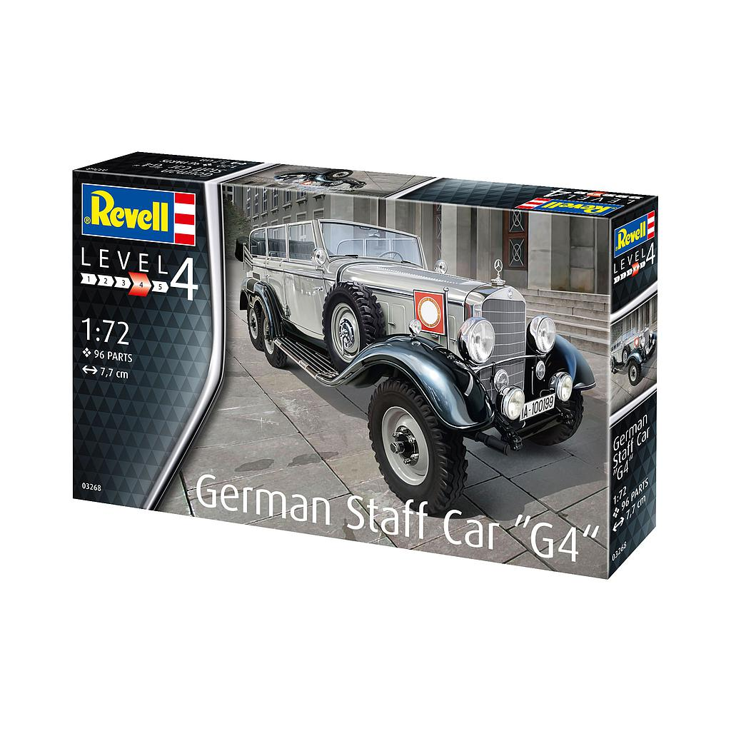 "Revell German Staff Car ""G4"" 1:72"