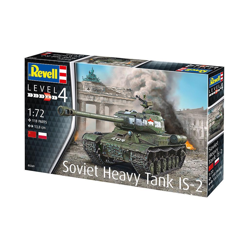Revell Soviet Heavy Tank IS-2 ..