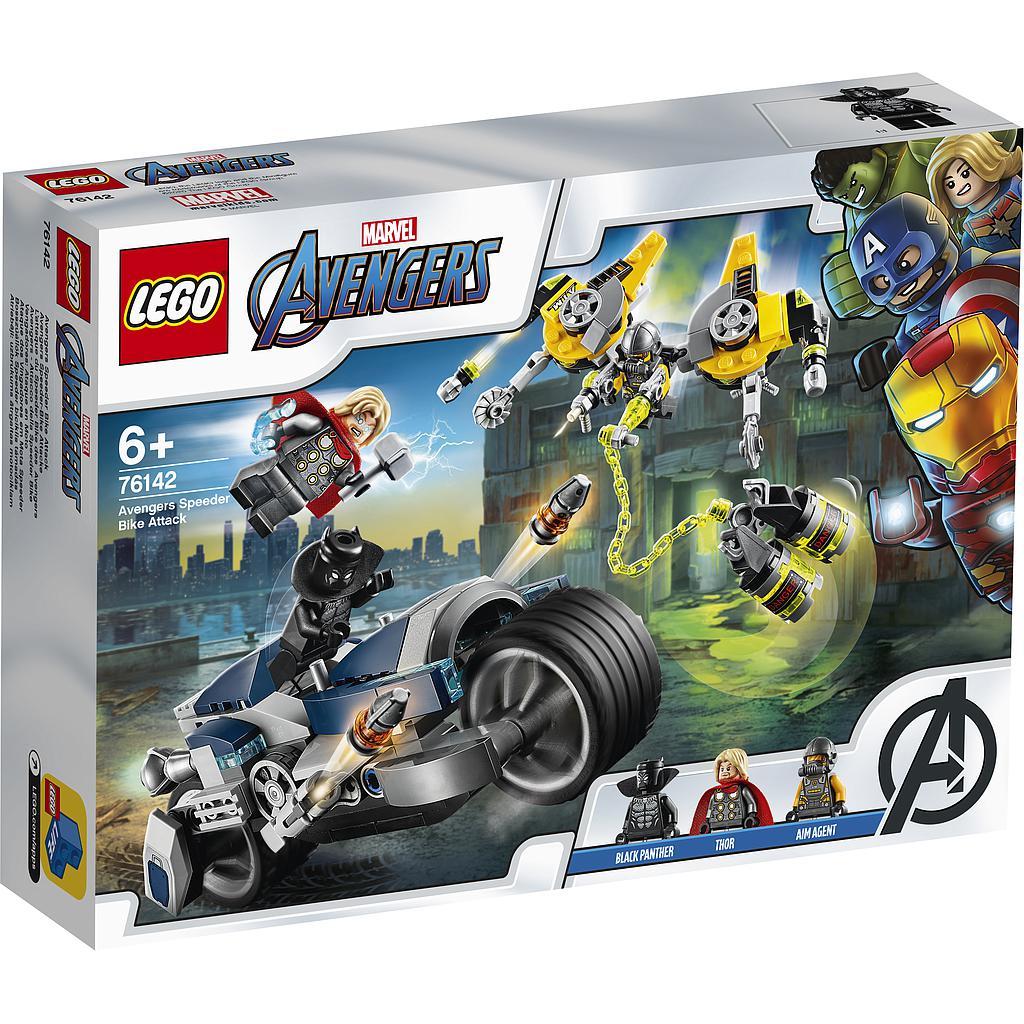 LEGO Super Heroes Tasujate rünnak kiirrattal
