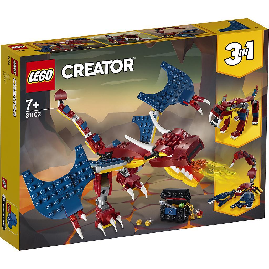 LEGO Creator Tuledraakon