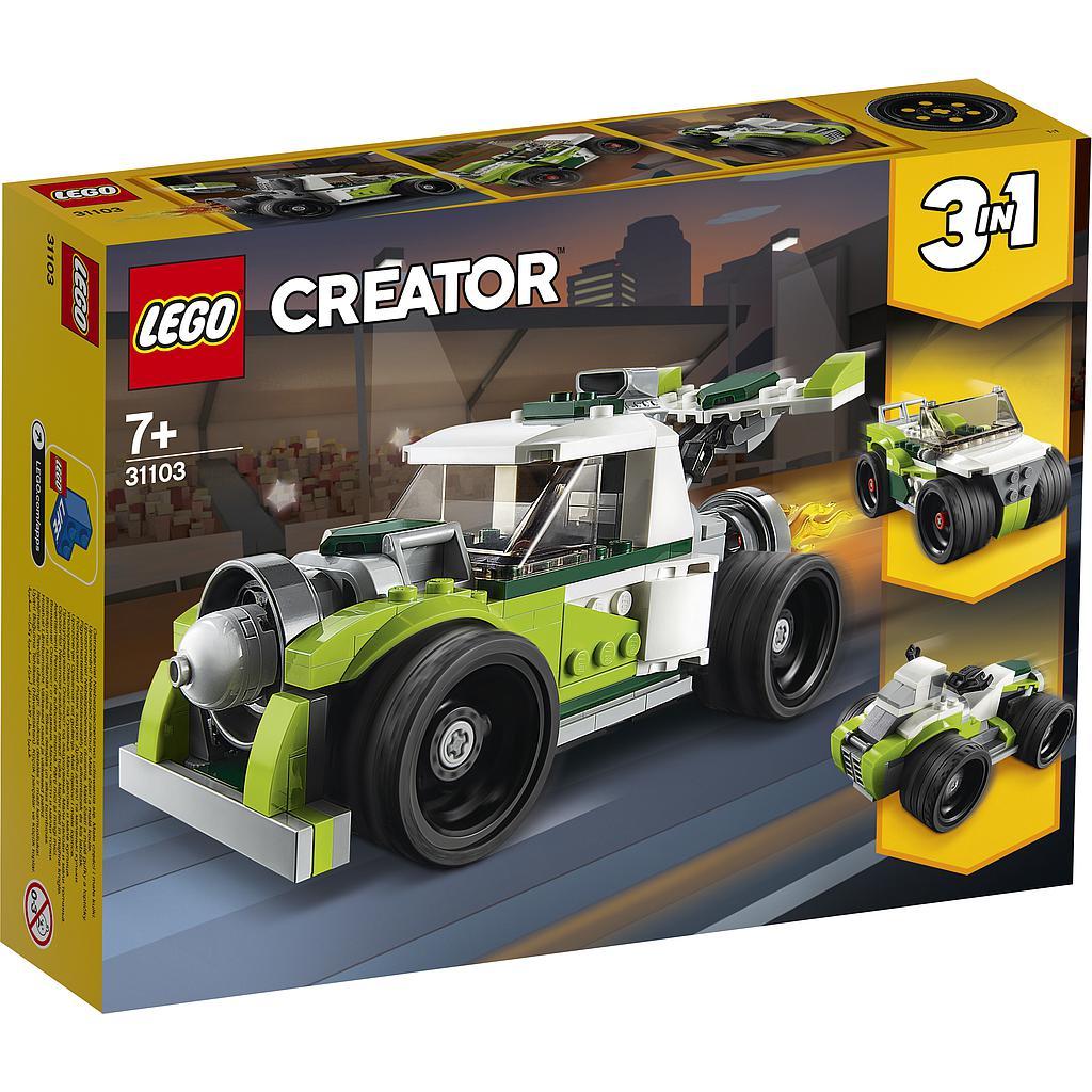 LEGO Creator Reaktiivauto