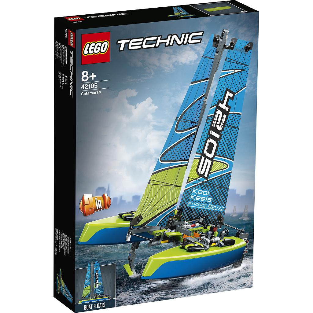 LEGO Technic Katamaraan