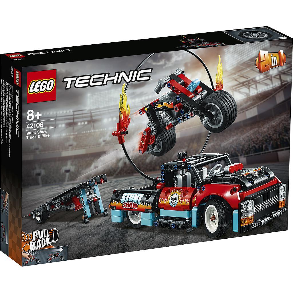 LEGO Technic Trikimaastur-ja mootorratas
