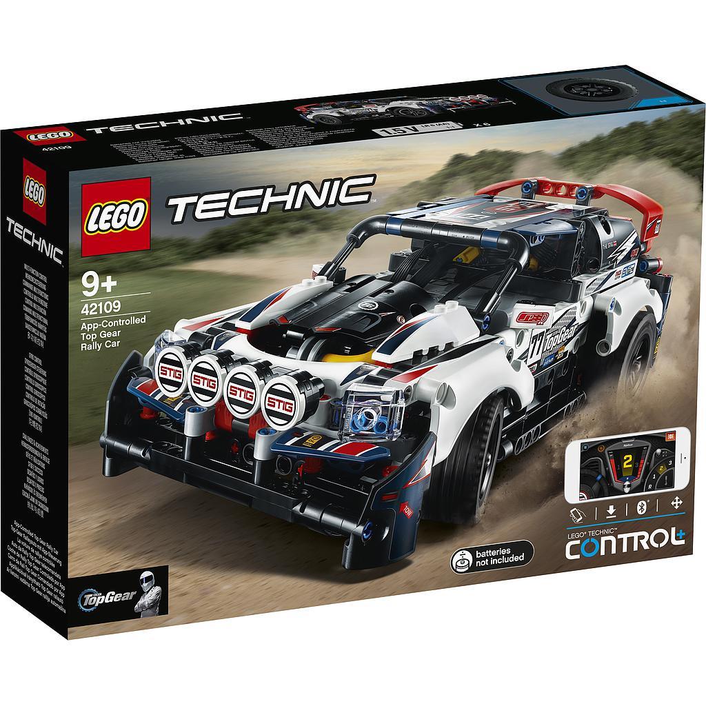LEGO Technic Rakenduse kaudu juhit.ralliauto