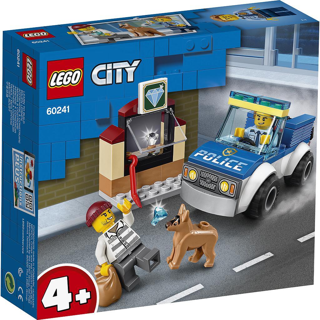LEGO City Politseikoeraga üksus