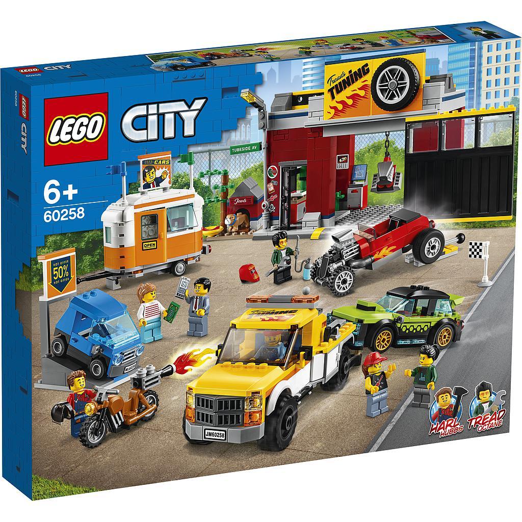 LEGO City Tuunimise töökoda