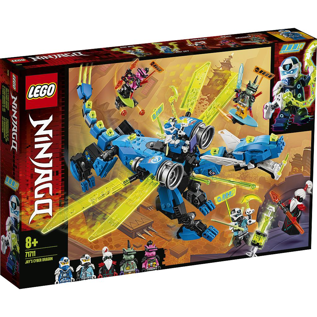LEGO Ninjago Jay küberdraakon