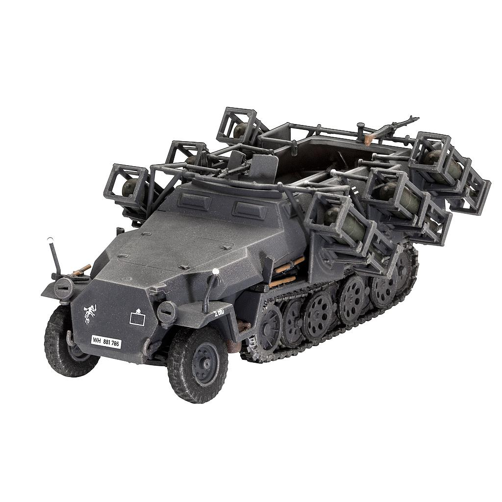 Revell Sd.Kfz. 251/1 Ausf. C + Wurfr. 4  1:72