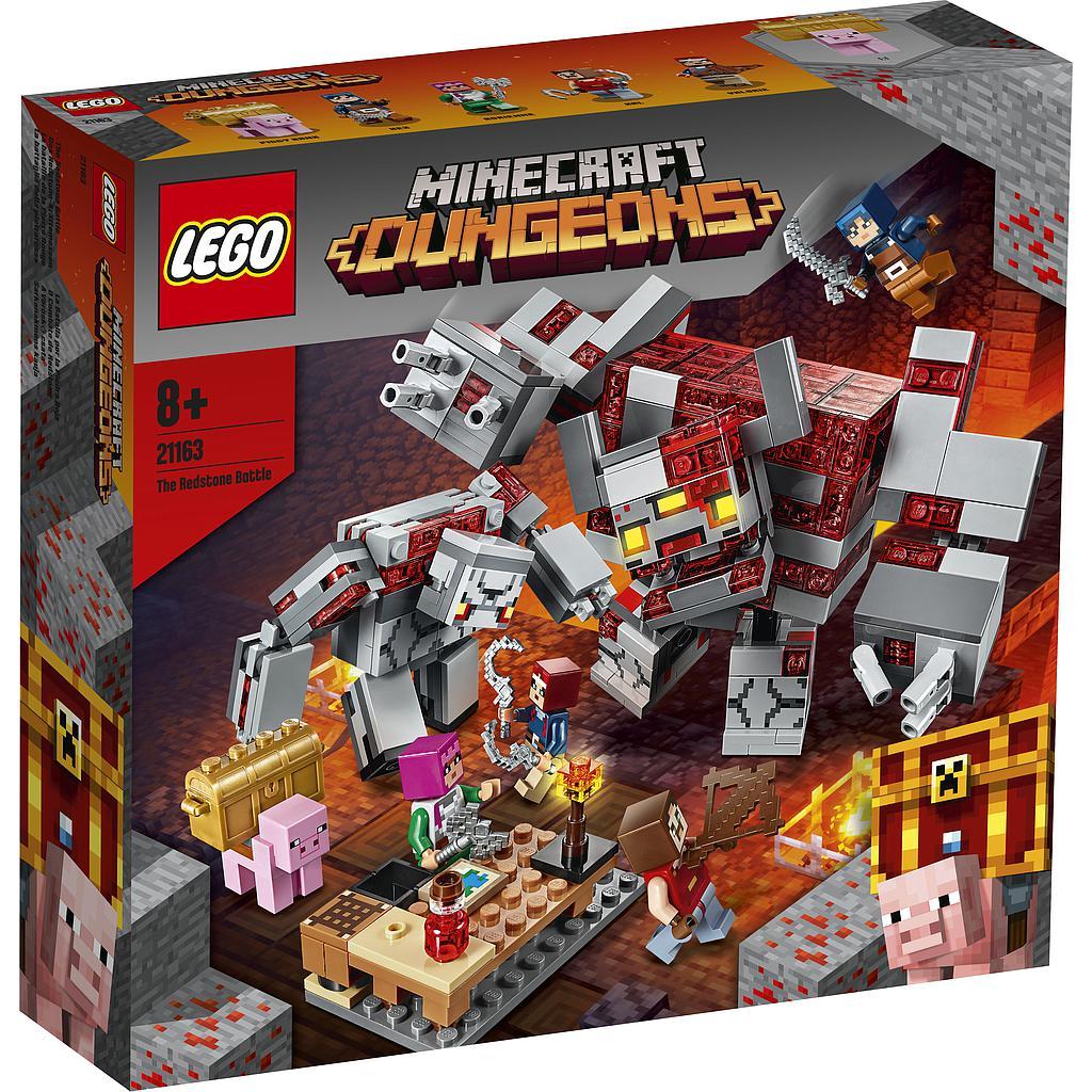 LEGO Minecraft Punakivi lahing