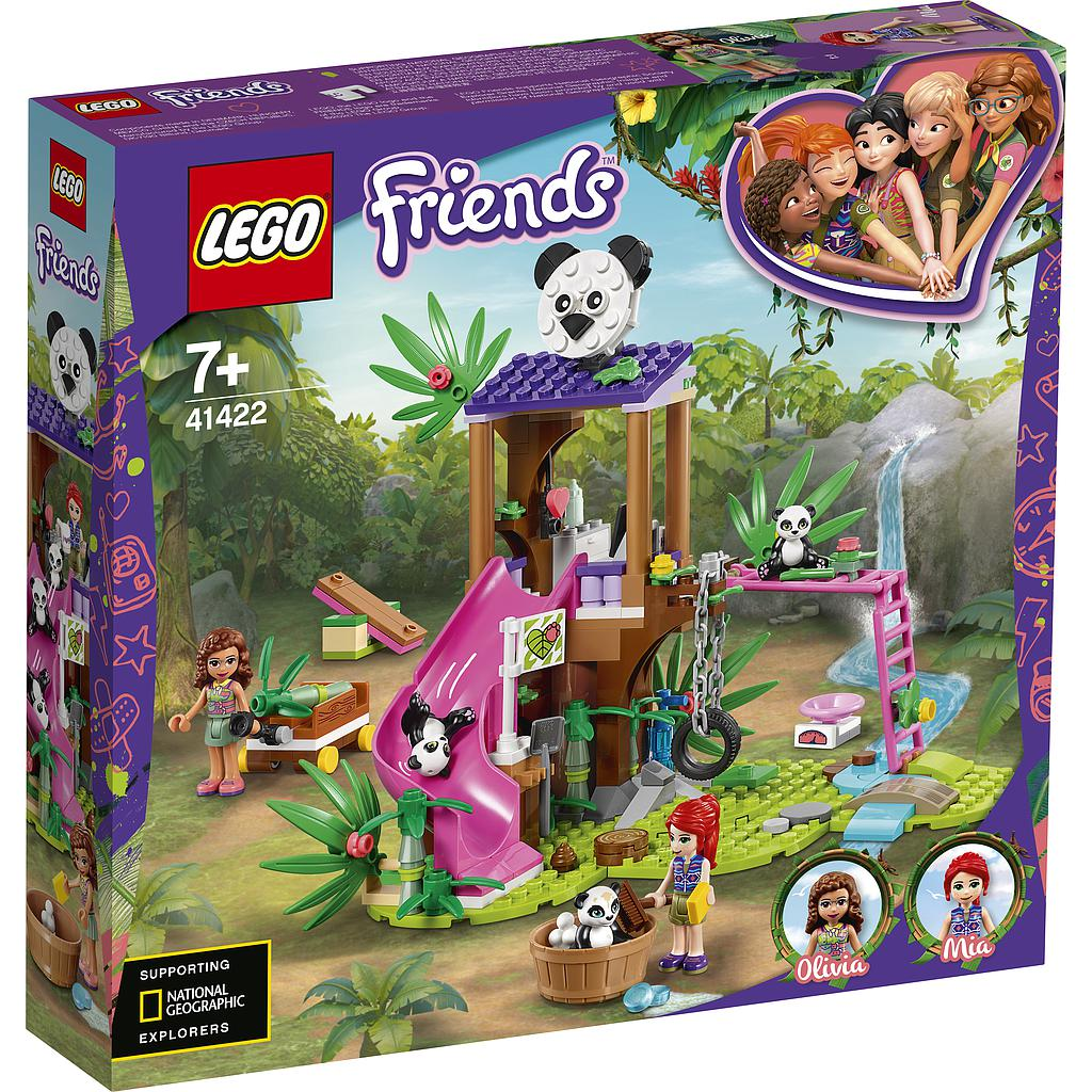 LEGO Friends Panda metsamajake džunglis