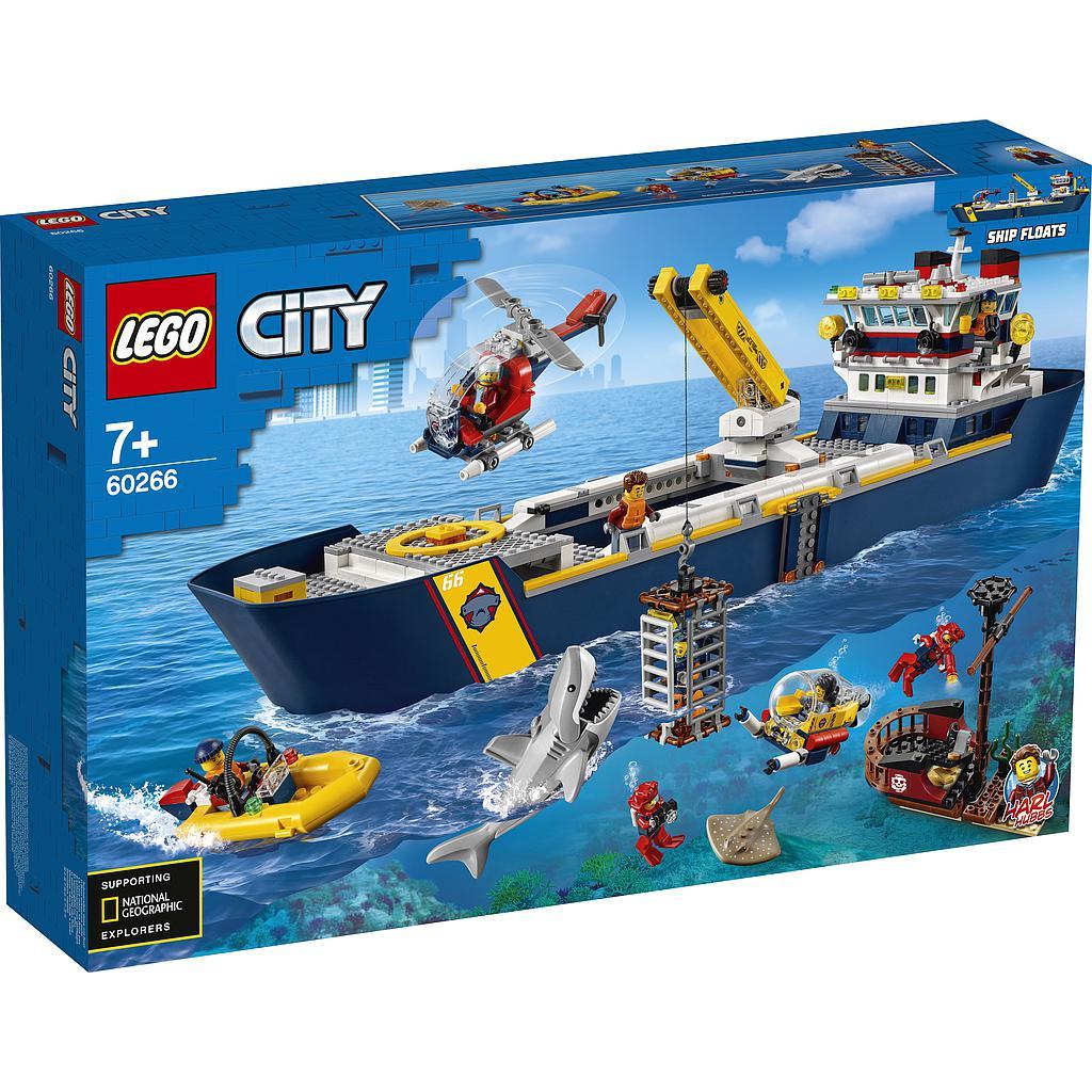 LEGO City Ookeani uurimise lae..