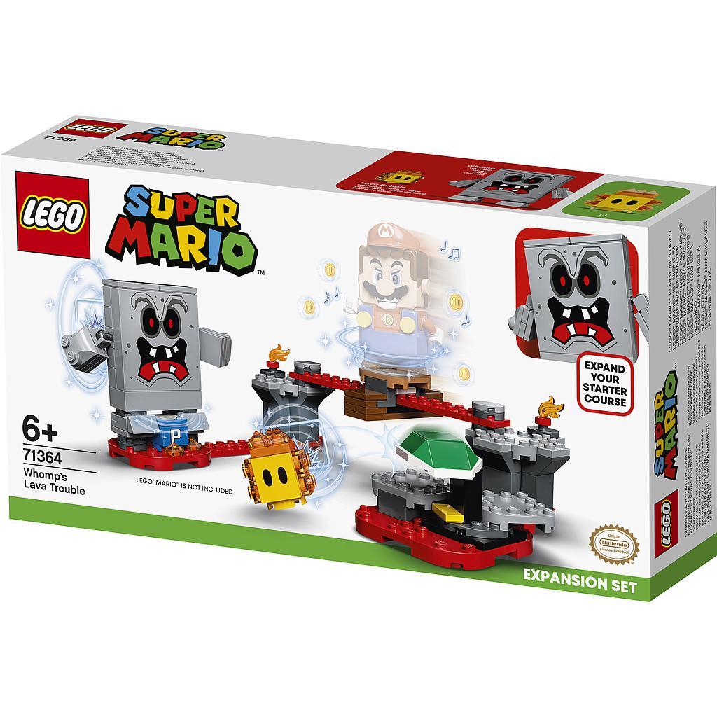 LEGO Super Mario Whompi laavat..