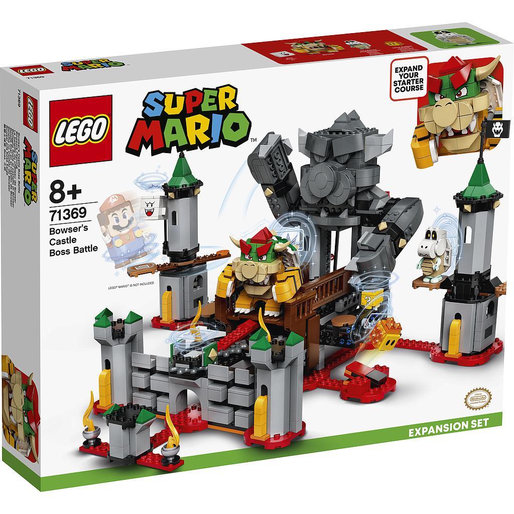 LEGO Super Mario Bowseri lossi..